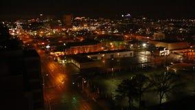 Memphis Night Time-Lapse Union Avenue stock video footage