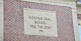 Memphis Oral School for the Deaf, Germantown, TN Royalty Free Stock Photo