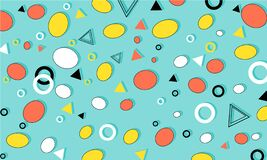 Free Memphis Pattern. Fun Background. Hipster Style 80s-90s. Fun Pattern. Royalty Free Stock Photo - 217721395
