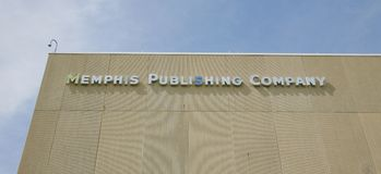 Memphis Publishing Company fotos de archivo