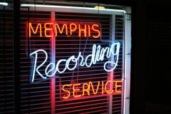 Memphis Recording Service Stock Photo