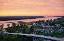 Memphis river bank Stock Photo