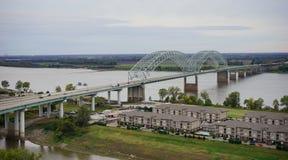 Memphis river bank Royalty Free Stock Photos
