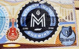 Memphis Robić Piwowarstwo Firma Zdjęcie Royalty Free