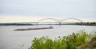 Memphis rzeki park fotografia stock