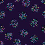 Memphis seamless pattern 80`s-90`s style. Trendy memphis style. Colorful geometric background. Hipster style.Colorful. Memphis seamless pattern 80`s-90`s style Stock Photography