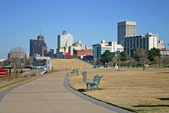 Memphis Skyline Stock Images