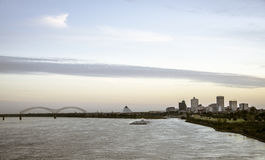 Memphis Skyline Royalty Free Stock Photos