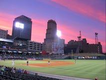 Memphis stadium światła Obrazy Stock