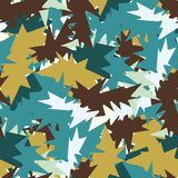 Memphis Style Abstract Geometric Texture Seamless Vector Pattern vector illustration