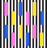 Memphis style background. 1980s trend. illustration. Memphis style geometric seamless pattern. trendy print vector illustration