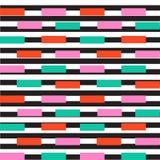 Memphis style background. 1980s trend. illustration. Memphis style geometric seamless pattern. trendy print royalty free illustration