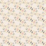 Memphis style geometric seamless pattern. Vector. Modern Royalty Free Illustration