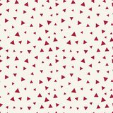 Memphis style triangle seamless pattern Royalty Free Stock Image