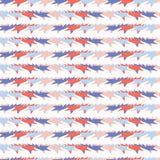 Memphis Stylowych Geometrycznych lampasów wektoru Bezszwowy wzór, ręka Rysujący Niewygładzeni Grunge kształty ilustracja wektor