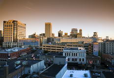 Memphis at sunrise Stock Photography