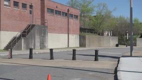 MEMPHIS, TENNESSEE - APRIL 08, 2016: Nationaal Burgerrechtenmuseum in Memphis, Tennessee stock footage