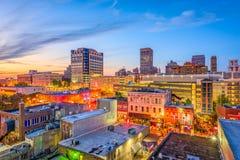 Memphis Tennessee Beale ulica zdjęcie stock