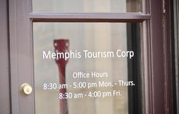 Memphis Tennessee Office of Tourism royalty free stock photography