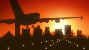 Memphis Tennessee usa Ameryka linii horyzontu wschodu słońca lądowanie obraz royalty free