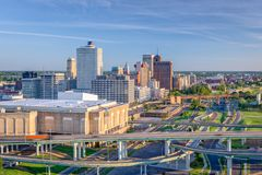 Memphis, Tennessee, USA. Downtown skyline royalty free stock photography
