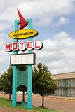 Lorraine Motel Sign royalty free stock image
