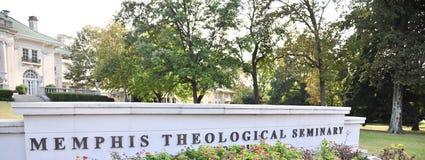 Memphis Theological Seminary Close-Up Memphis, TN. Stock Image