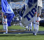 Memphis Tigers-Fußballteameingang Stockfoto