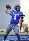 Memphis Tigers QB, RILEY FERGUSON Royalty Free Stock Photos