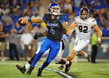 Memphis Tigers Quarterback Riley Ferguson Fotos de archivo