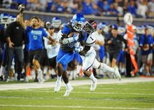 Memphis Tigers Running-back Terrell Carter Royalty Free Stock Photography