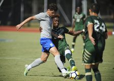 Memphis Tigers vs. USF Bulls Soccer Royalty Free Stock Images