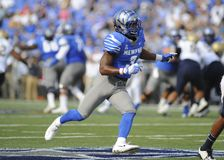 Memphis Tigers Wide Receiver, ANTHONY MILLER Royalty Free Stock Photos