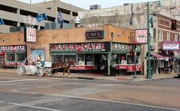 Memphis, TN autoguident des bleus Photographie stock