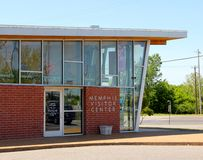 Memphis Visitor Center, Memphis Tennessee Fotografía de archivo