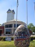 Memphis Visitors Centre Tennessee los E.E.U.U. del río Misisipi y de Dolly Parton Bridge imagenes de archivo