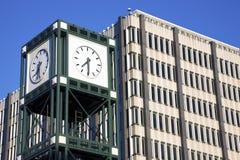 memphis zegarowy w centrum wierza fotografia stock