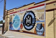 Memphis Zrobił malowidłu ściennemu Obrazy Royalty Free
