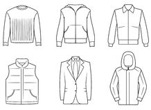 Men�s clothes Stock Image