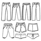 Men's-Hosen Stockbilder