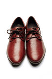 Men's shoes. Pair of business men's shoes Royalty Free Stock Images