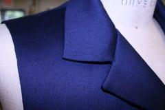 Men's vest lapel Stock Photo