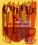 Menú de la cafetería, Imagen de archivo libre de regalías