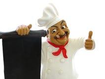 Menú de la cocina Fotografía de archivo libre de regalías