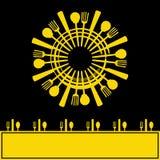 Menú de la sol Imagen de archivo libre de regalías