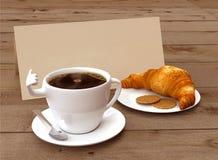 Menú del desayuno Imagen de archivo libre de regalías