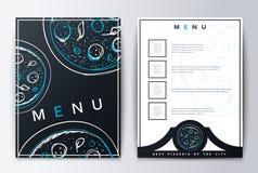 Menú del diseño Comida del menú Fotografía de archivo libre de regalías
