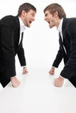 Men� confrontation. Stock Image