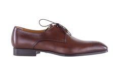 Men& x27 παπούτσια καφετιά Οξφόρδη του s Στοκ Εικόνες