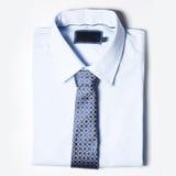 Men' одежда s на белой предпосылке Стоковая Фотография RF